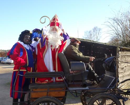 Sinterklaasbezoek 4 dec 2016
